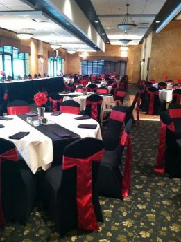 Classic Black, White and Red Reception