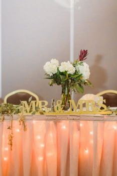 Simplicity Of A Sweetheart Table