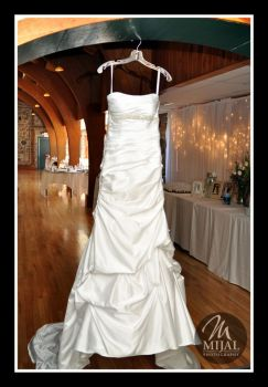 Simple Wedding Dress In The Venue